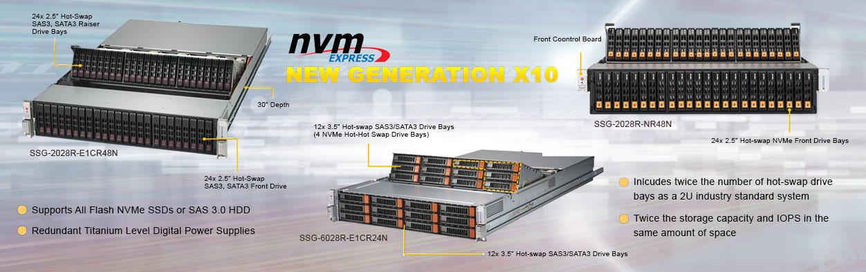 Supermicro NVMe Server Solutions